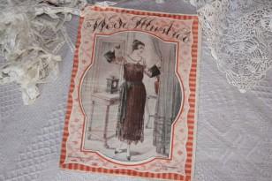"""Revue ancienne du 27/11/1921  """"La Mode Illustrée"""""""