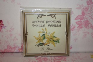 """Sachet parfumé """" VANILLE """" Parfum d'ambiance"""