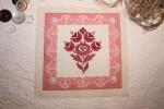 Images rétro sur tissu (thème: couture)
